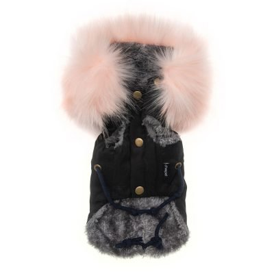 Lux Parka Baby Pink - Furbaby Couture