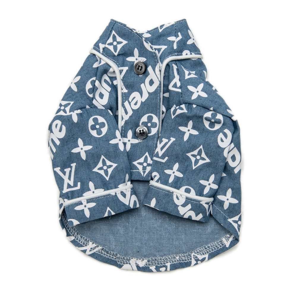 Love Me Button up - Furbaby Couture