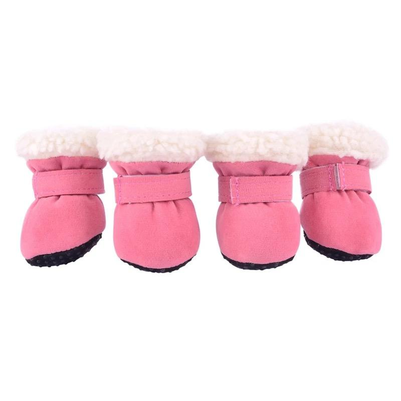 Cute Dog Boots Pink