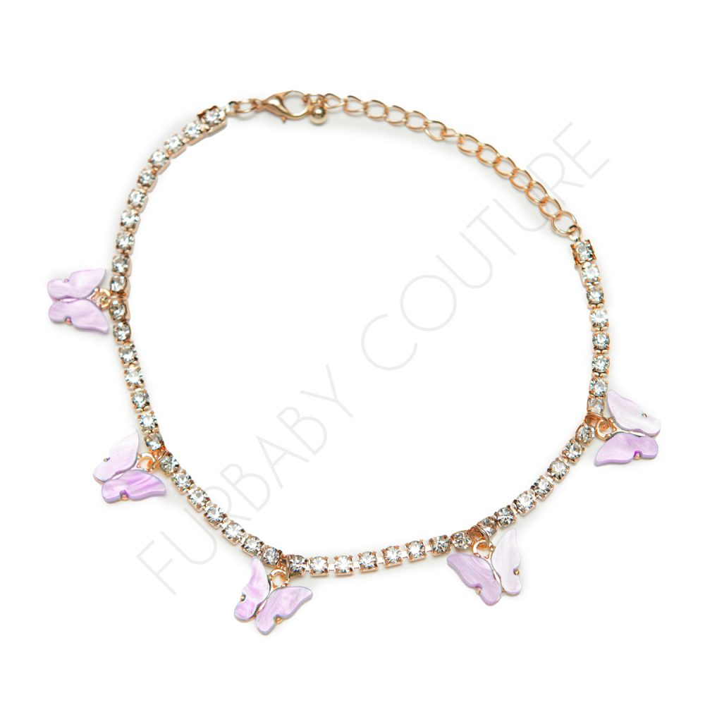 Dog Butterfly Tennis Chain